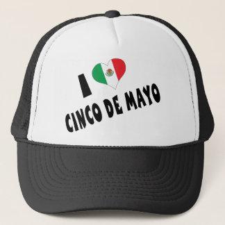 私はCinco deメーヨーを愛します キャップ
