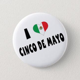 私はCinco deメーヨーを愛します 缶バッジ