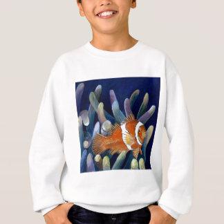 私はclownfishを愛します スウェットシャツ