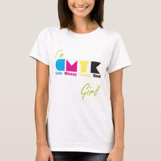 私はCMYKの女の子です Tシャツ