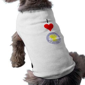 私はCOGIC犬のワイシャツを愛します ペット服