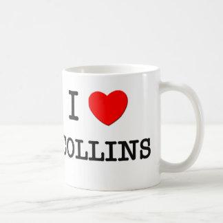 私はCollinsを愛します コーヒーマグカップ