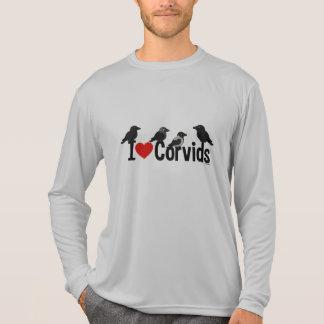 私はCorvidsを愛します Tシャツ