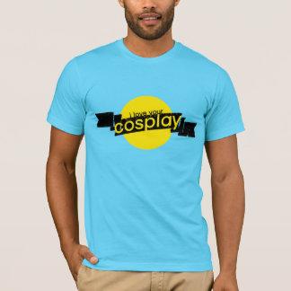 私はCosplayのあなたの男性アメリカの服装のTシャツを愛します Tシャツ