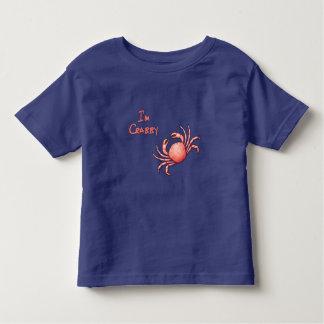私はCrabbyです トドラーTシャツ