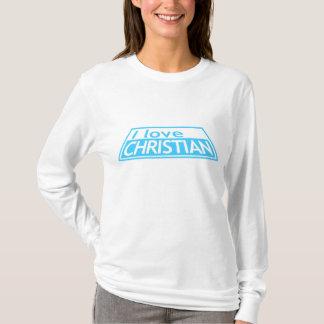 私はCRISTIAN -プロジェクトの走路ティムGunn H Klum --を愛します Tシャツ