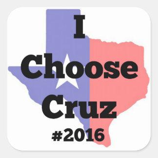 私はCruz #2016を選びます スクエアシール