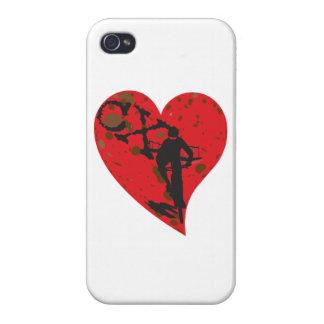 私はCX Cyclocrossを愛します iPhone 4 カバー