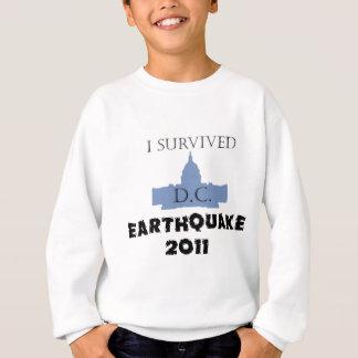 私はD.C. Earthquake 2011年を生き延びました スウェットシャツ