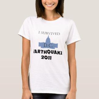 私はD.C. Earthquake 2011年を生き延びました Tシャツ