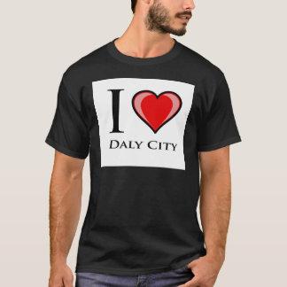 私はDaly Cityを愛します Tシャツ