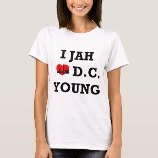 私はDCを愛します Tシャツ