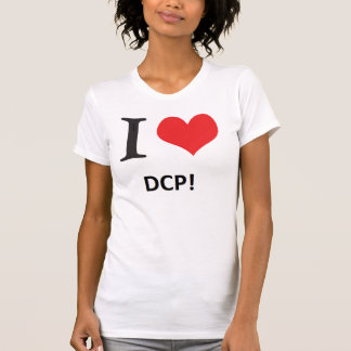 私はDCPをlove Tシャツ