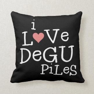 私はDeguの山を愛します クッション