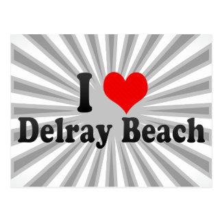 私はDelray Beach、米国を愛します ポストカード