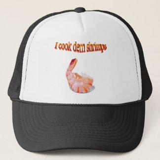 私はDemのエビのおもしろいな帽子を調理します キャップ