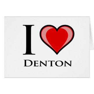 私はDentonを愛します カード