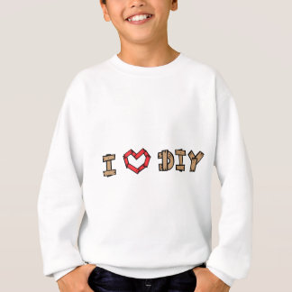 私はDIYを愛します スウェットシャツ
