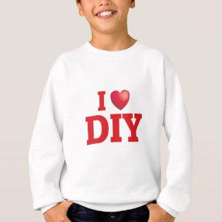 私はdiy愛します スウェットシャツ