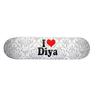 私はDiyaを愛します カスタムスケートボード
