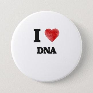 私はDNAを愛します 7.6CM 丸型バッジ