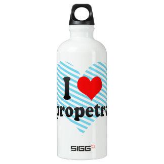 私はDnipropetrovsk、ウクライナを愛します ウォーターボトル