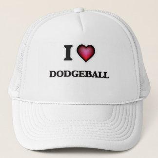 私はDodgeballを愛します キャップ