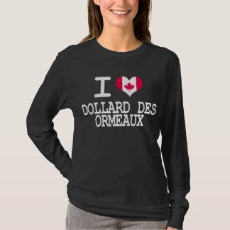 私はDollard des Ormeauxを愛します Tシャツ