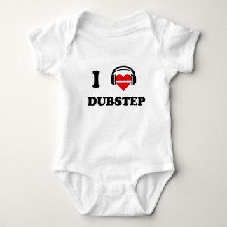 私はDubstepを愛します ベビーボディスーツ