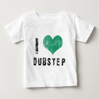 私はDubstepを愛します ベビーTシャツ