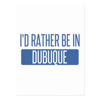 私はDubuqueにむしろいます ポストカード