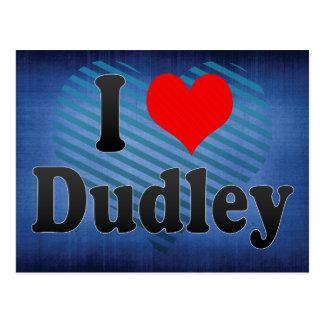 私はDudley、イギリスを愛します ポストカード