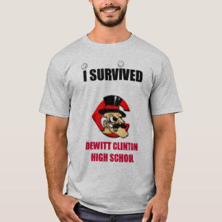 私はDWCHSのTシャツを生き延びました Tシャツ