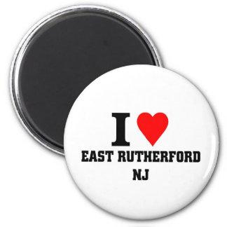 私はEast Rutherford、ニュージャージーを愛します マグネット
