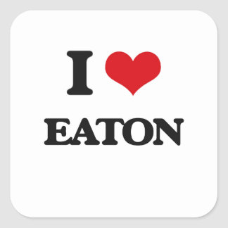 私はEatonを愛します スクエアシール
