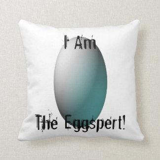 """""""私はEggspert"""" 3です クッション"""