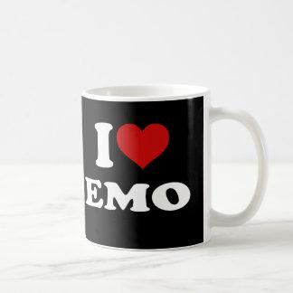 私はEmoを愛します コーヒーマグカップ