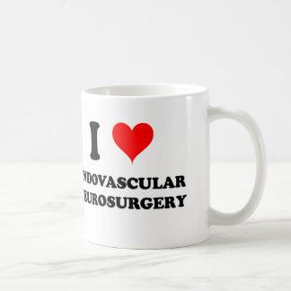 私はEndovascularの神経外科を愛します コーヒーマグカップ