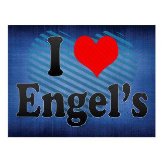 私はEngel、ロシアを愛します ポストカード