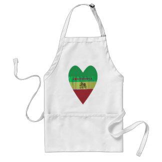 私はEthiopia.pngを愛します スタンダードエプロン