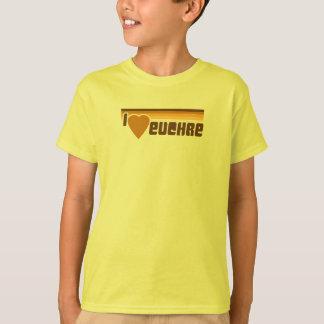私はEuchreのレトロ70sを愛します Tシャツ