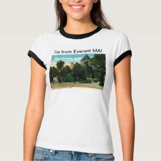 私はEverettマサチューセッツのヴィンテージからあります Tシャツ