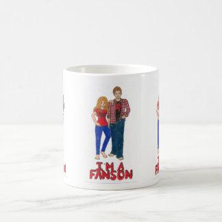 私はFansonのマグです モーフィングマグカップ