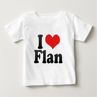 私はFLANを愛します ベビーTシャツ