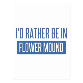 私はFlower Moundにむしろいます ポストカード