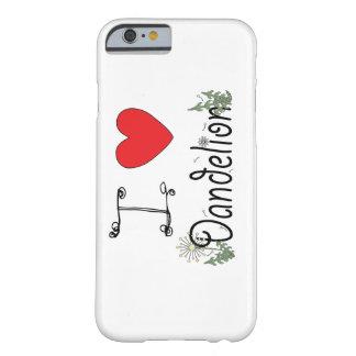 私はForagersのためのタンポポのiPhone 6sの場合を愛します Barely There iPhone 6 ケース