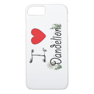 私はForagersのためのタンポポのiPhone 7の場合を愛します iPhone 8/7ケース