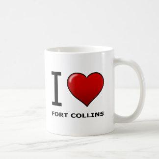 私はFORT COLLINS、共同コロラド州を愛します コーヒーマグカップ