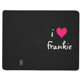私はFrankieのピンクのハートを愛します ポケットジャーナル
