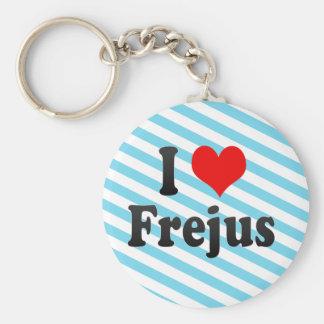 私はFrejus、フランスを愛します キーホルダー